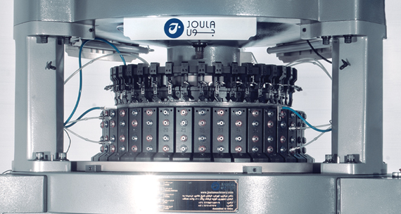 Joula Small Diameter Double Circular Knitting Machine